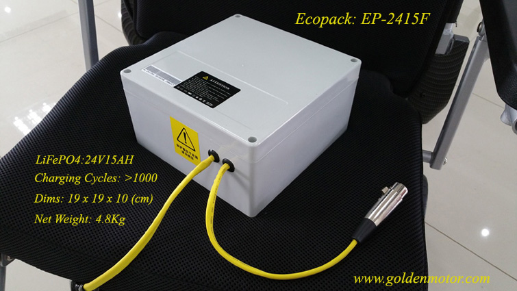 Golden Motor Battery Pack for Electric Wheelchair Thailand