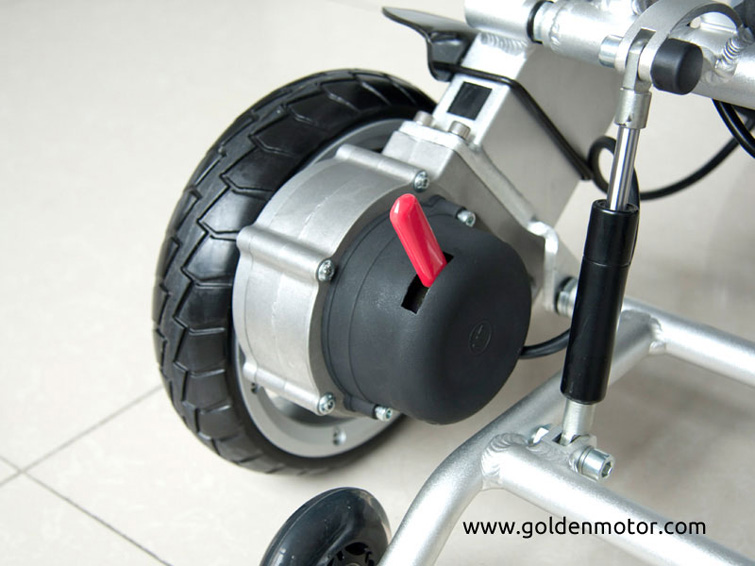 DIY Electric Wheelchair Kit Golden Motor Thailand