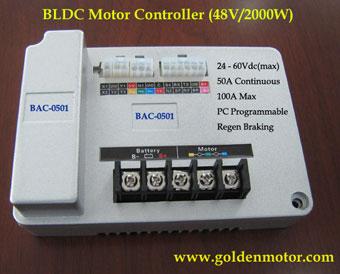 2KW Electric Motor Contoller Golden Motor Thailand