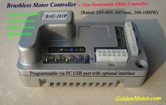 BLDC Electric Golden Motor Thailand Controller