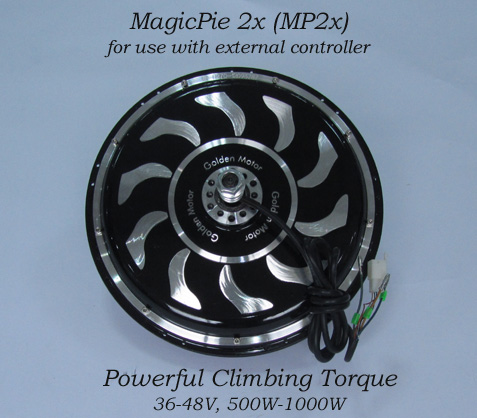 Magic Pie 2 Electric Golden Motor Thailand