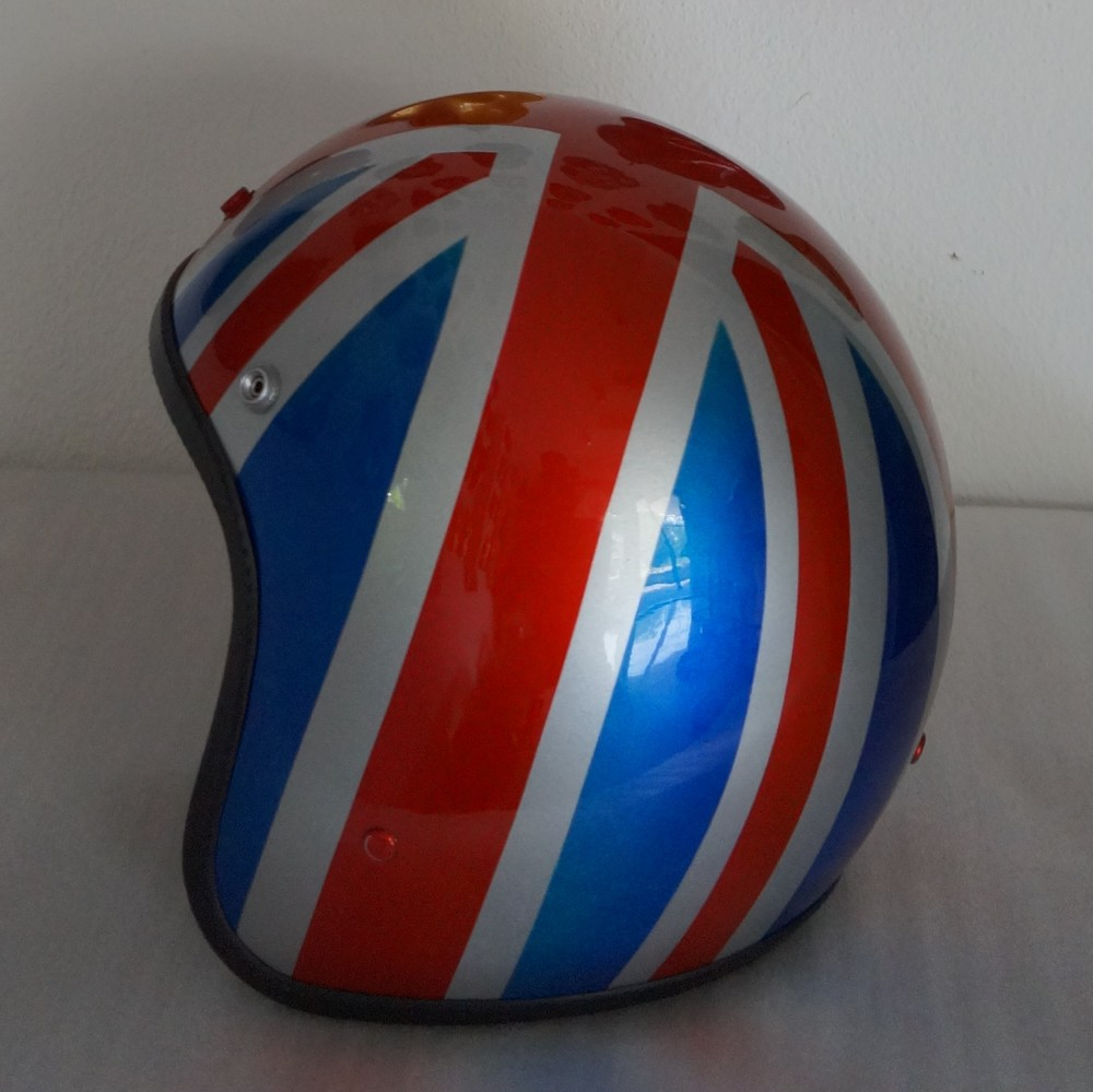 British Flag Design Helmet
