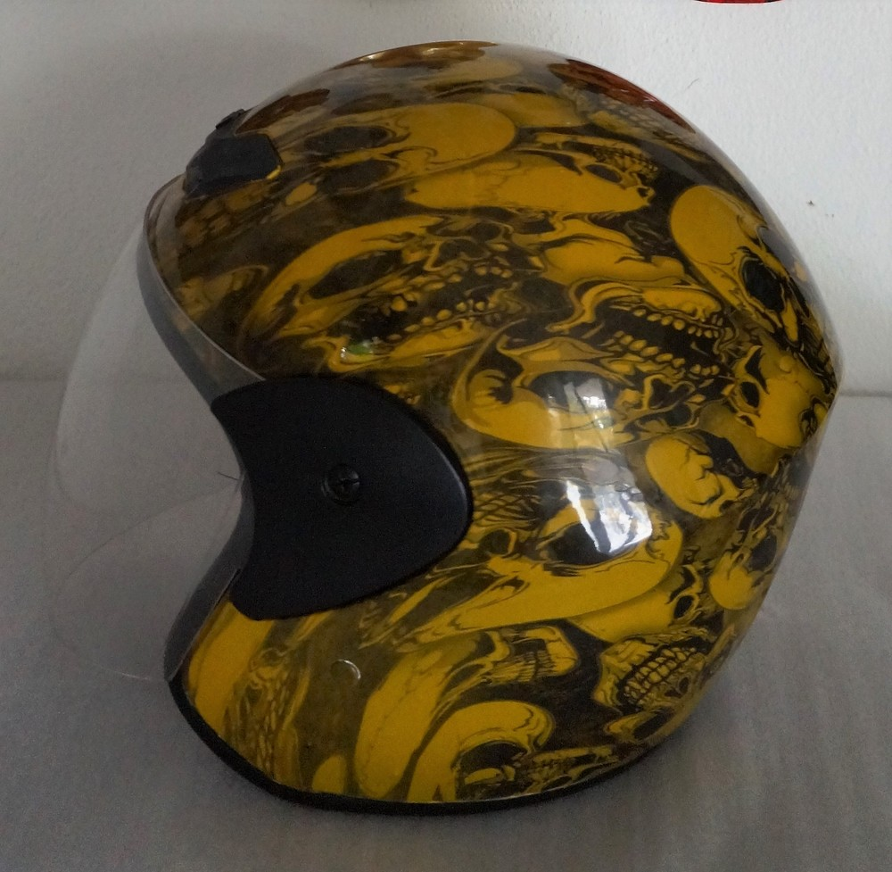 Custom Design Skull Helmet