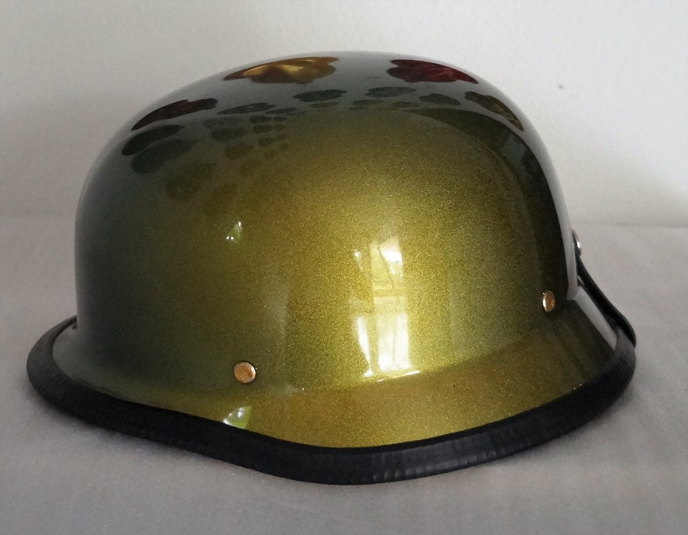 German Style Custom Painted Helmet