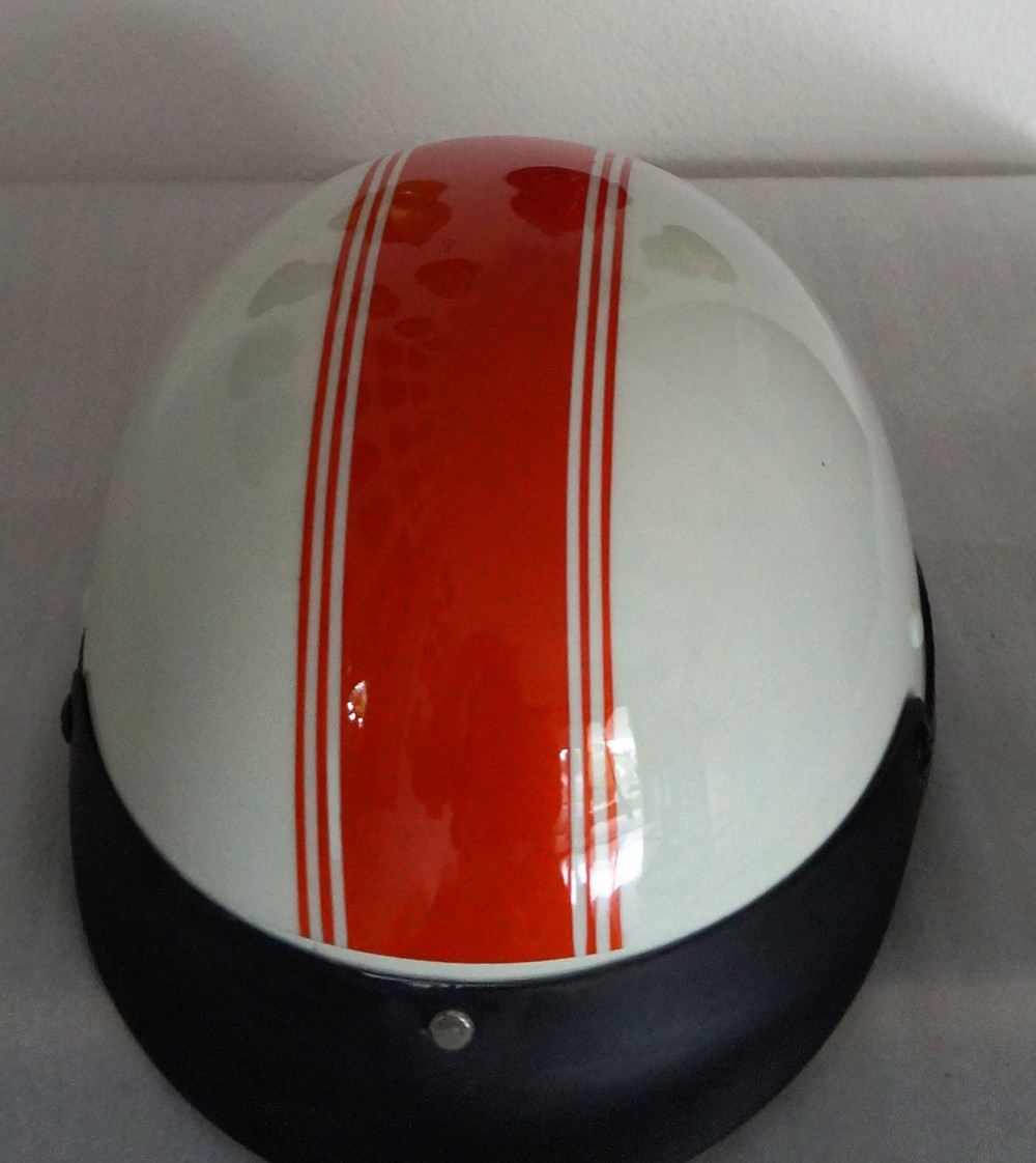 Basic Head Topper Helmet - Custom Paint www.electricbikesthailand.com