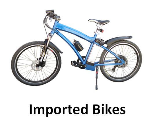 Imported Electric Bikes Thailand