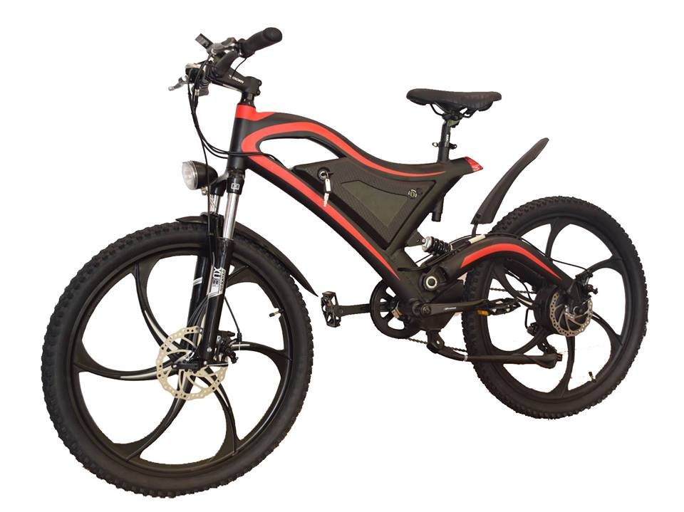 Electric Mountain Bike Ninja TDE 05 www.electricbikesthailand,com