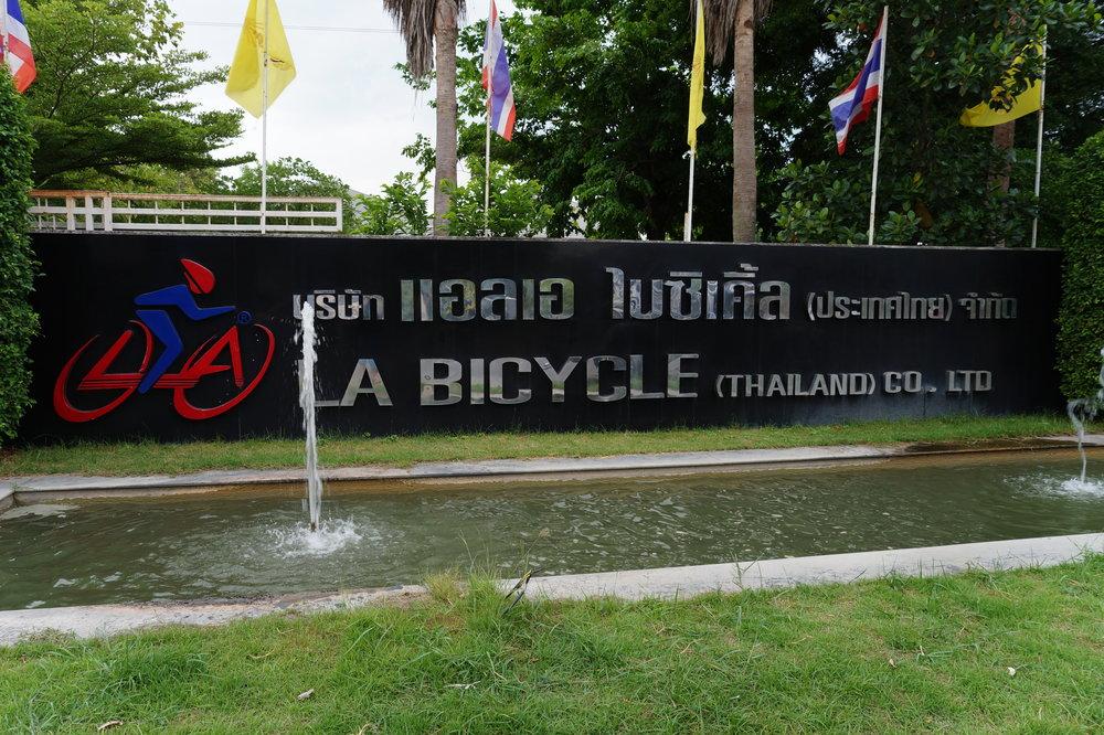 LA Bikes Entrance Bangkok www.electricbikesthailand.com