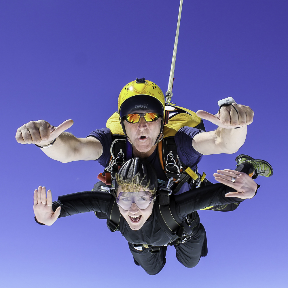 Learn More about tandem skydive