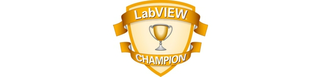 labview champion: an honourary group of elite developers dedicated to the progression of national instruments and labview