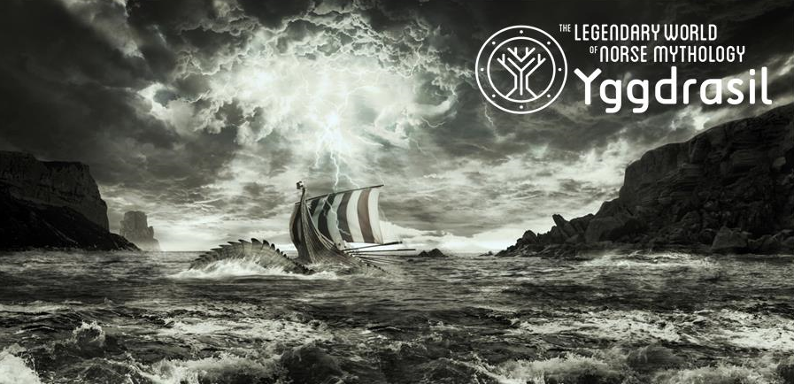 Midgard Serpent North Sea - poster