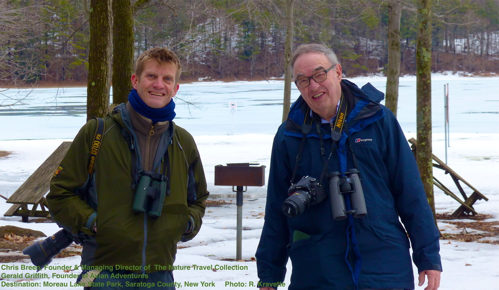 exploring New York State's wildlife with experts Chris Breen of The  Nature Travel Collection  and Gerry Griffith of  Avian Adventures  meant I experienced nature in a whole new way, they were fast to share details i would have missed, share stories - and as you can see by their smiles - many laughs.