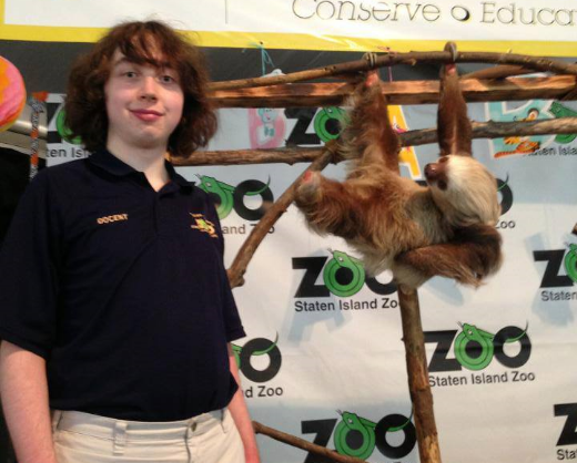 Erik Peterson, volunteer docent at the Staten Island Zoo in New York,explains his favorite species:the sloth. Erik is a regular contributor to Destination: WIldlife.