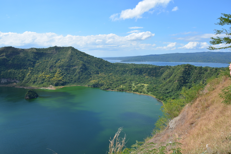 Crater Lake on Luzon Island is the world's smallest volcano crater lake, once over fished, now the economic focus is on responsible tourism  © Arxeolog14⎮Dreamstime.com
