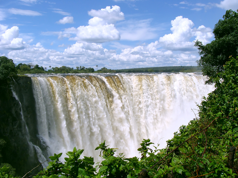 Victoria Falls (from the Zimbabwe side). A short drive from Chobe National Park. Image:  ©Stephanie van Der Vinden⎮Dreamstime.com