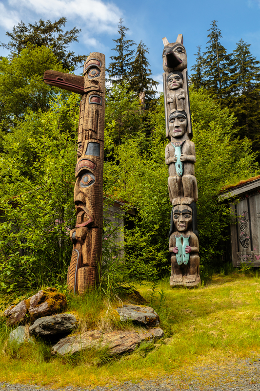 IMAGINE A PLACE WHERE YOU CAN FIND 800 YEARS OLD TREES, AND A 10,000-YEAR OLD CULTURE, AS WELL AS FISH EATING GRAY WOLVES - THAT PLACE IS PRINCE OF WALES ISLAND.  IMAGE:  © Daniel Shumny⎮DREAMSTIME.COM