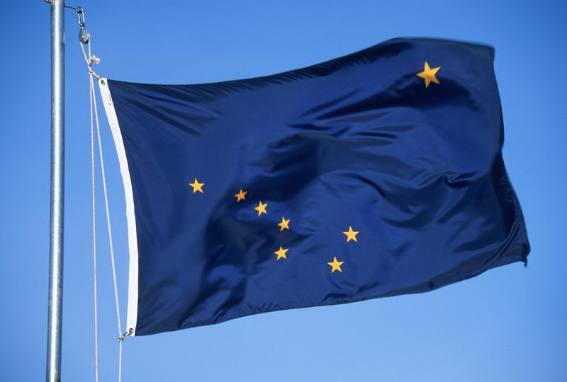 ALASKA'S FLAG. IMAGE: ©AMERICANSPIRIT ⎮DREAMSTIME.COM