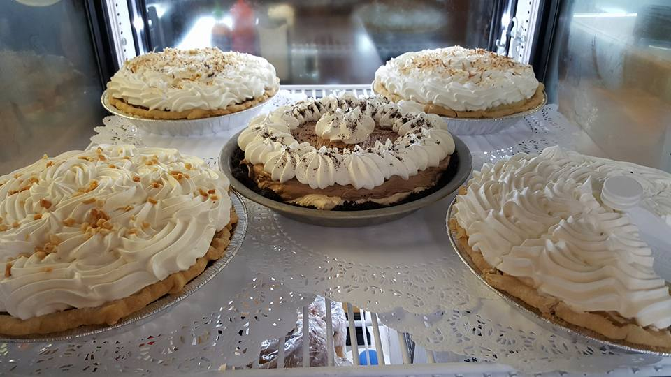 THE RIGHT-FROM-THE-WATER FISH, INCLUDING SUSHI, AND BURGERS ARE GREAT AT THE DOCKSIDE CAFE IN CRAIG BUT DO NOT MISS THEIR HOME MADE PIES AND DESERTS ! IMAGE:DOCKSIDE CAFE.