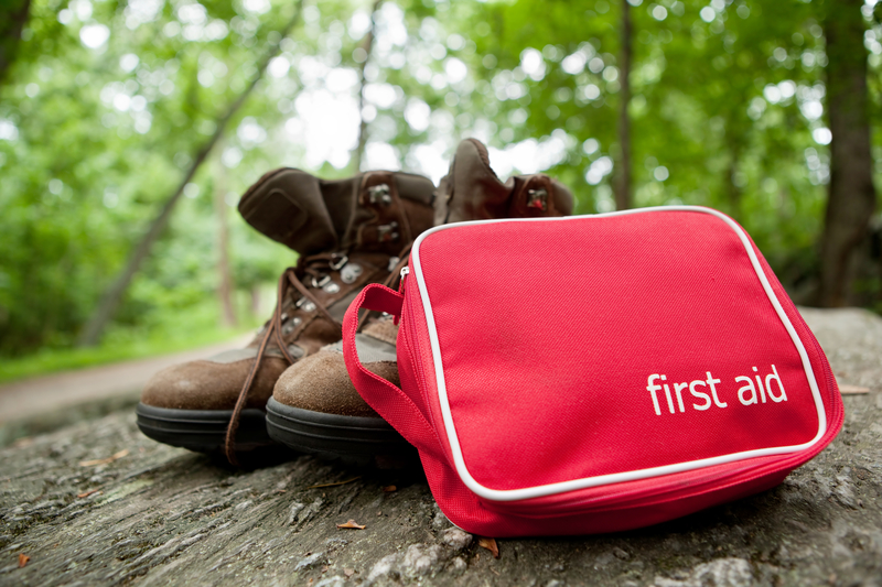 "ALWAYS TAKE AN EMERGENCY KIT - BUT REMEMBER, THIS IS A ""FIRST AID KIT"", NOT A PORTABLE HOSPITAL. KEEP IT LIGHT WEIGHT AND SENSIBLE. LOOK BELOW FOR A LIST OF MUST HAVES. IMAGE: ©LESLIE BANK ⎮DREAMSTIME.COM"