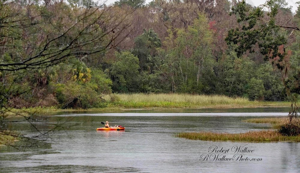 THE GLASS BOTTOM BOATS OF THE OLD THEME PARK ARE LONG GONE, TODAY YOU CAN FLOAT PEACEFULLY ALONG THE CRYSTAL CLEAR WATERS IN A CANOE OR KAYAK. IMAGE: ROBERT WALLACE, RWALLACE PHOTO