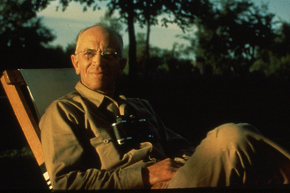 ALDO LEOPOLD, 1887-1948 FATHER OF THE UNITED STATES WILDERNESS SYSTEM. IMAGE THANKS TO THE ALDO LEOPOLD FOUNDATION AND THE UNIVERSITY OF WISCONSIN'S LIBRARIES DIGITAL COLLECTION.