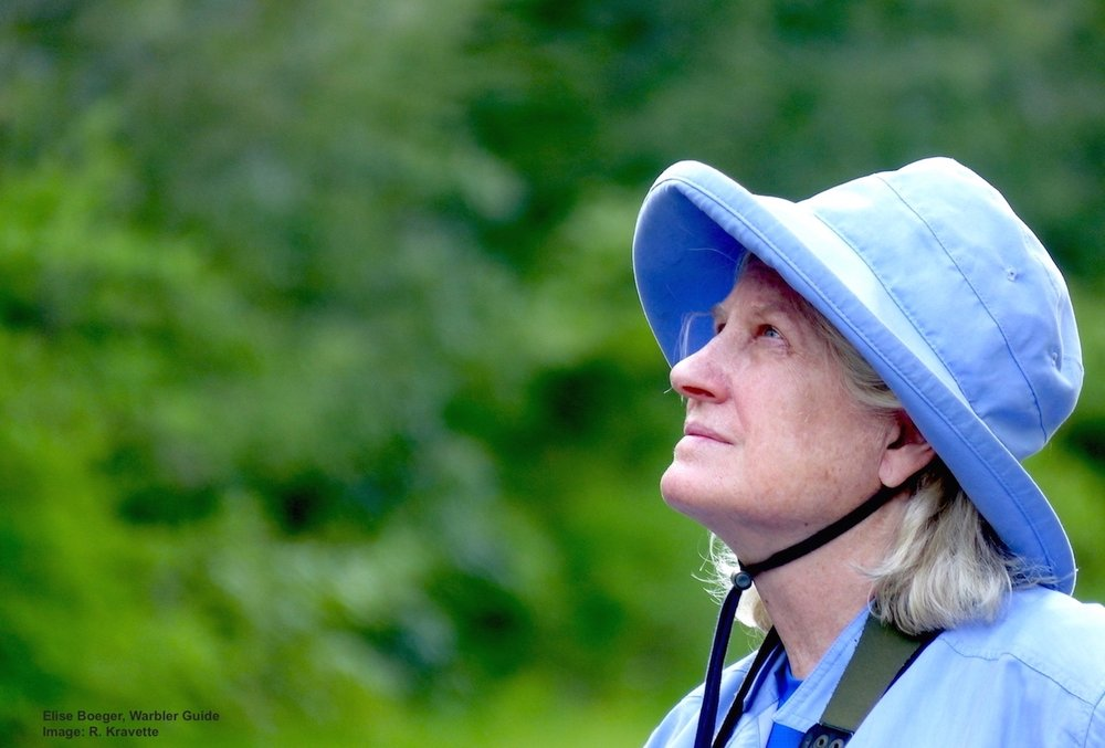 Central Park Expert Birder, Elise Boeger