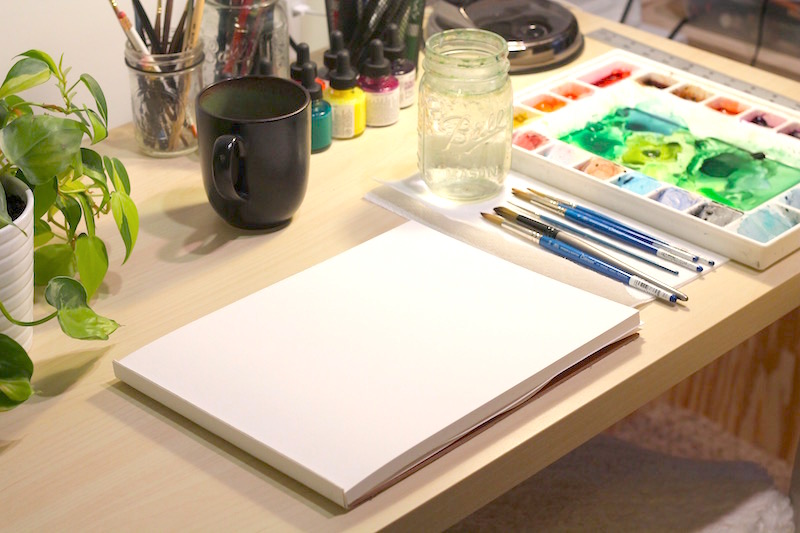 set up your workspace, the art of michelle, artist's studios