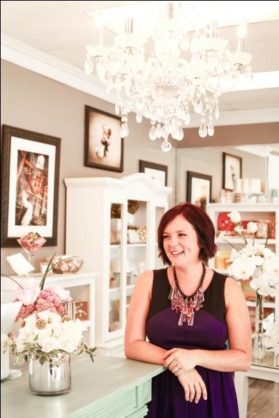 Sara O'Shea of So Chic Boutique in Morton, IL