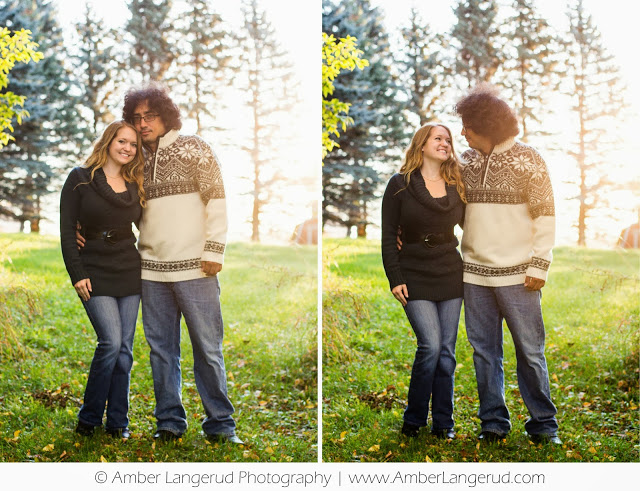 Detroit Lakes, Fargo/Moorhead Photographer; outdoor fall engagement pictures