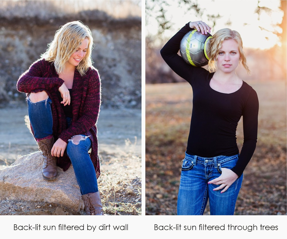 2 Tips for getting better natural light backlit images | Detroit Lakes area Portrait Photographer