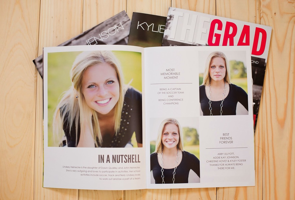 Minnesota High School Senior Photographer | Grad Magazine