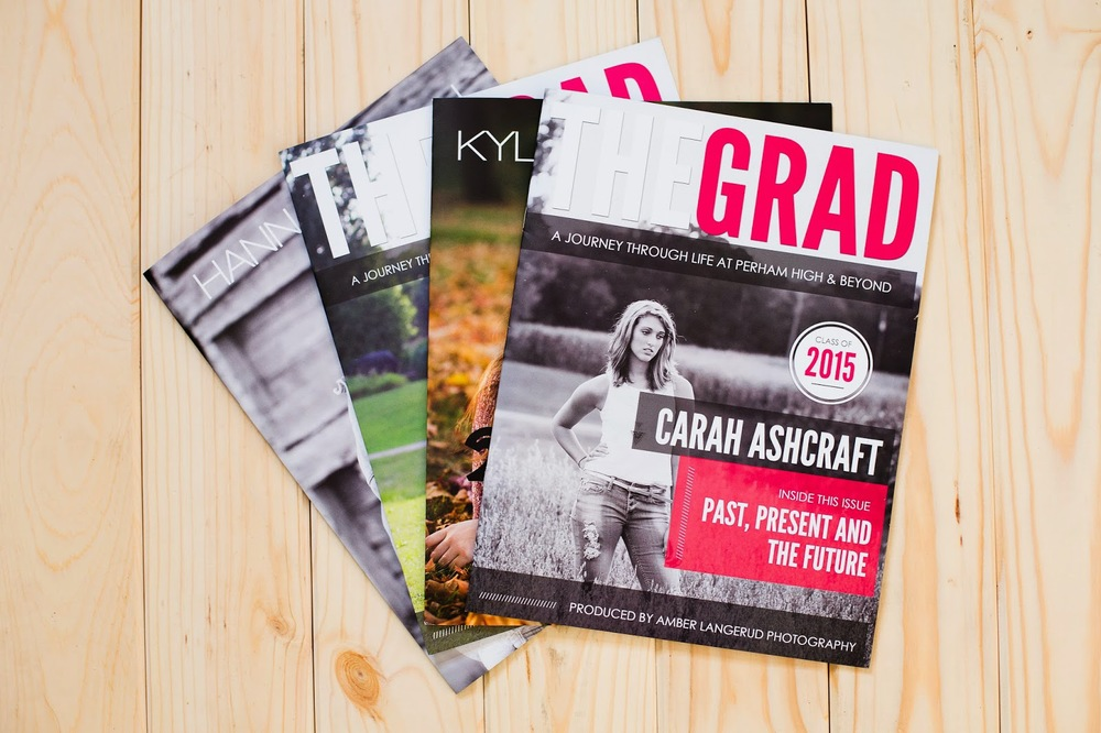 Custom Grad Magazine | MN and Fargo/Moorhead area high school senior photogrpaher