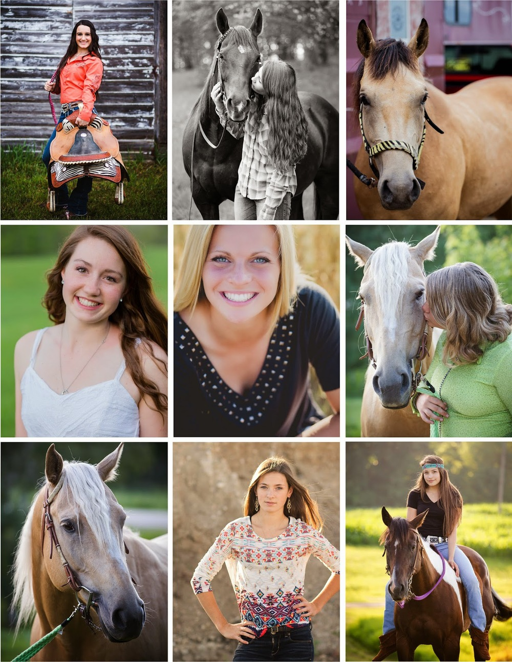 Amber Langerud Photography | A Girl and Her Horse Photography | Detroit Lakes Area High School Senior Photographer