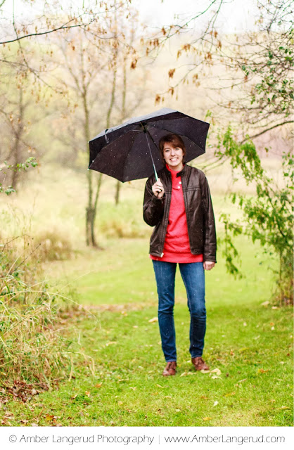 Detroit Lakes High School Senior Photographer | Senior Pictures in the Rain | Class of 2014