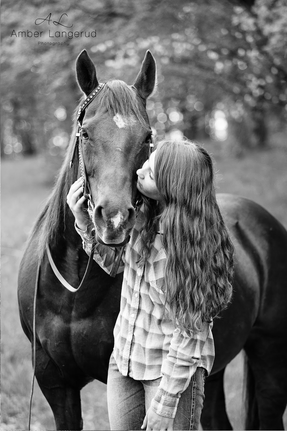 A Girl & Her Horse Outdoor High School Senior Portraits | Detroit Lakes, Fargo/Moorhead Area Photographer | Amber Langerud Photography