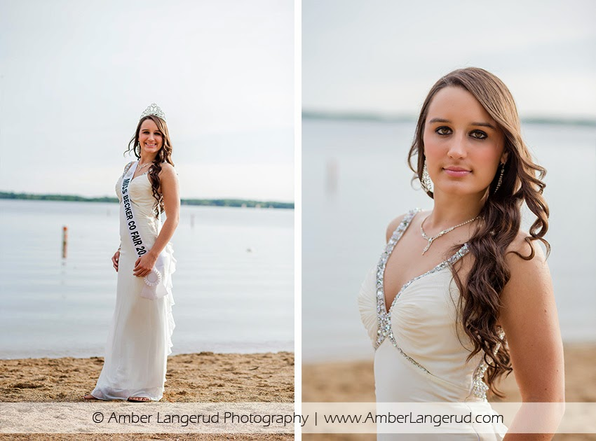 Miss Becker County Fair | Pageant Photos | Outdoor Photoshoot in Detroit Lakes, MN
