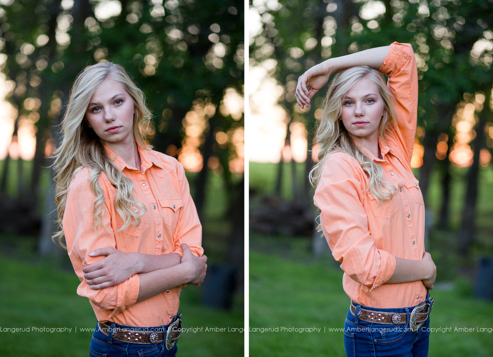 A Girl and Her Horse Photoshoot | Detroit Lakes area High School Senior Photographer