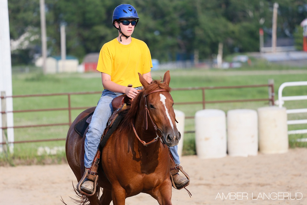 4-H Horse Games | Key Hole | Detroit Lakes Area Equine Photographer