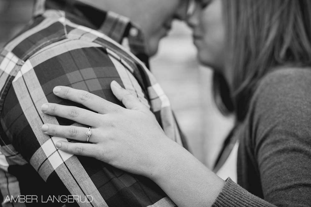 Detroit Lakes Area Farm Styled Engagement Session | Ring Shot