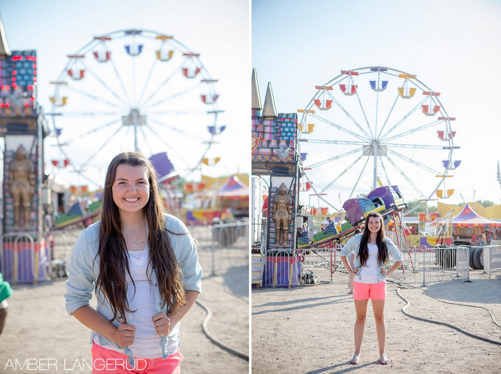 Senior Pictures at the Fair