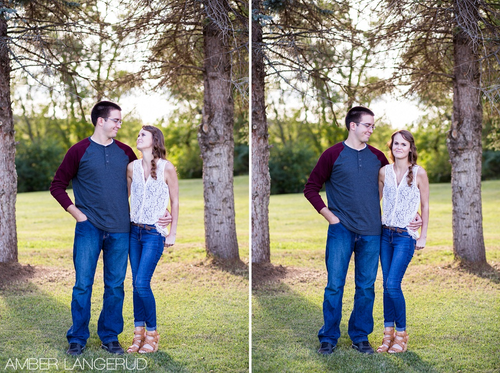 Country Styled Engagement Session | Detroit Lakes Area Engagement Photographer