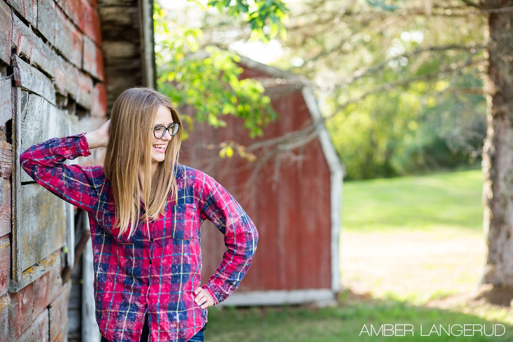 Country Styled High School Senior Girl Pictures