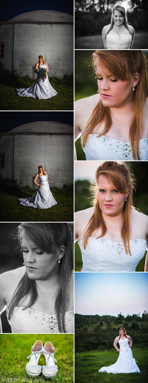 Off Camera Flash Bridal Shoot