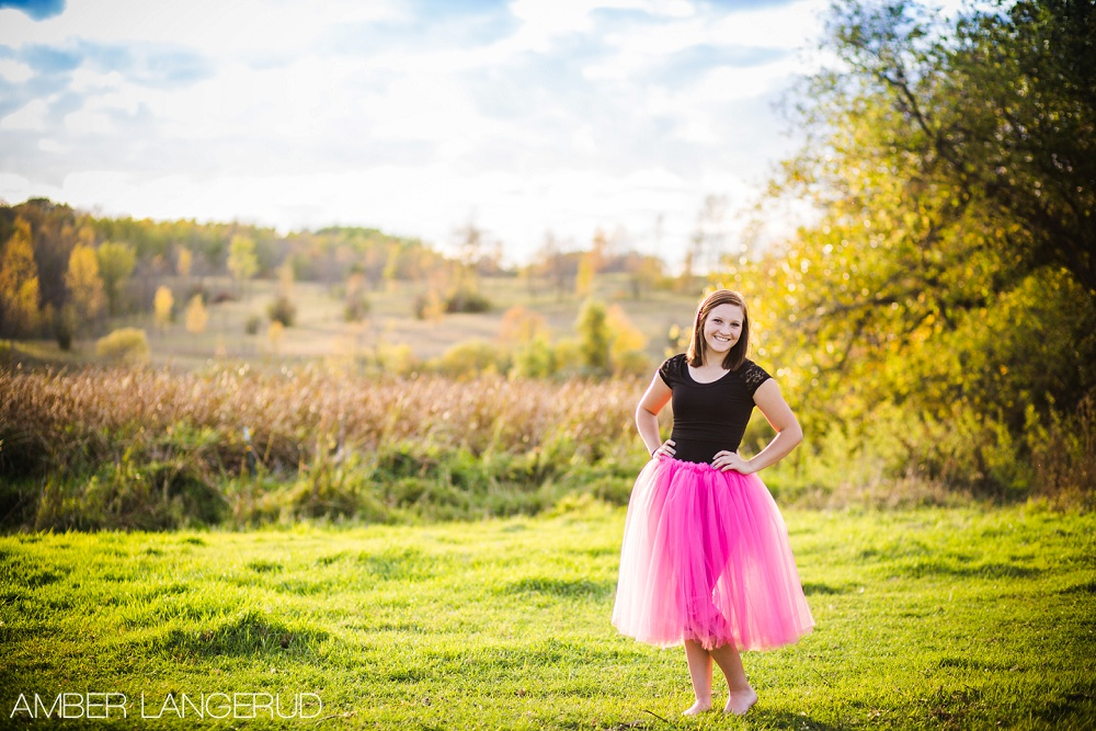 Dance and Country Styled Portraits in Minnesota