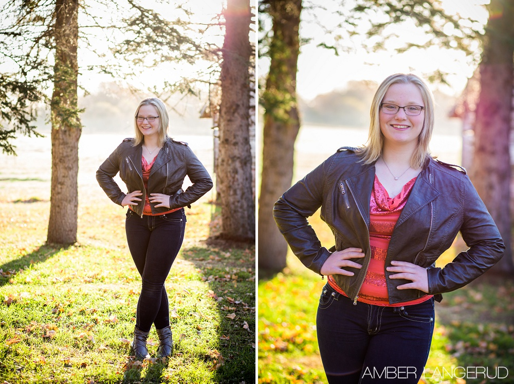 Class of 2016 Fall Photoshoot | Amber Langerud Photography