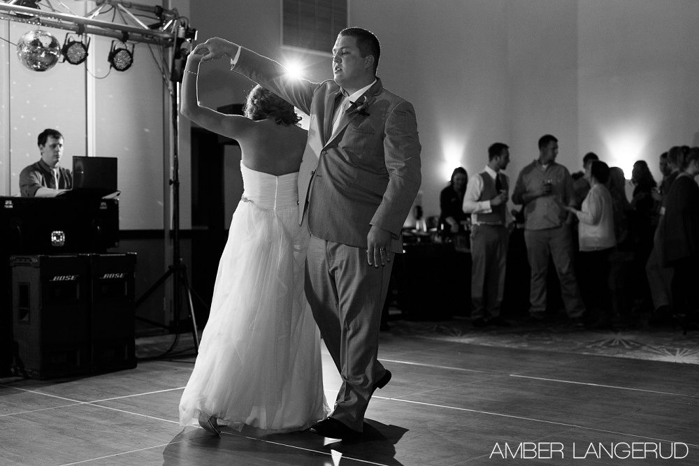 Fargo, ND Hilton Garden Inn Reception | First Dance
