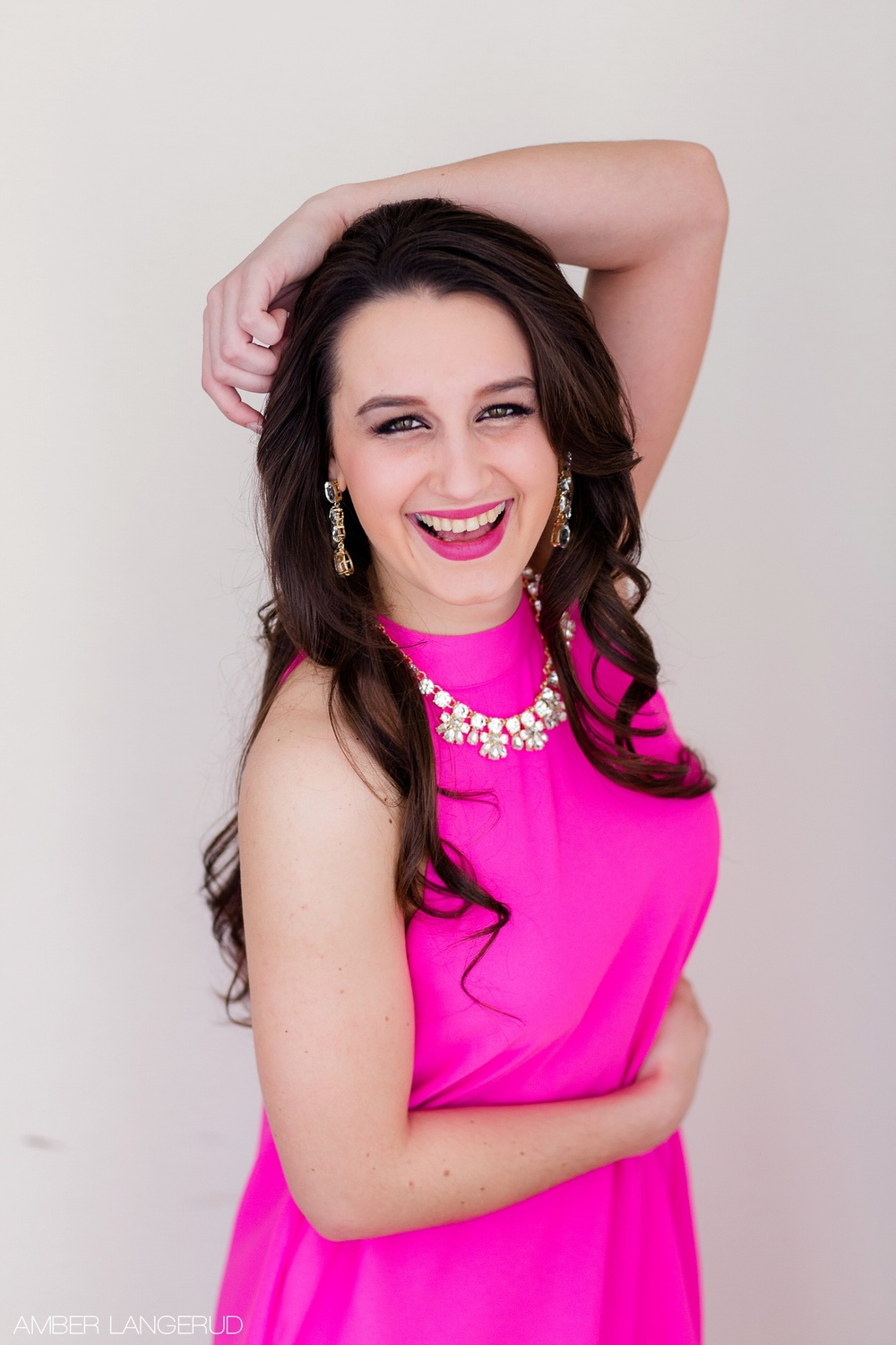 Sarah Labine Miss Northwest 2015 | Headshots by Amber Langerud Photography out of Audubon, MN