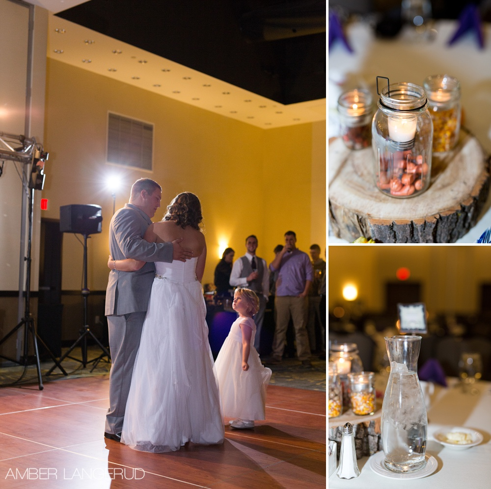 RECEPTION LIGHTING | Flash | Audubon, MN Wedding Photographer