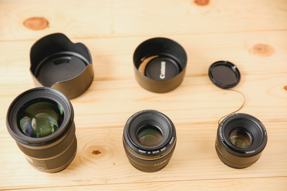 My 50mm Lens Line-up