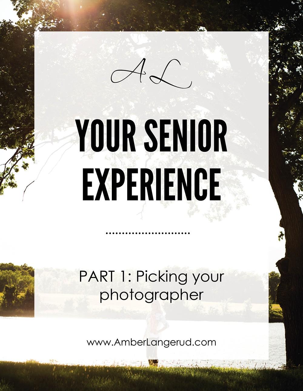 Picking your high school senior photographer | Detroit Lakes Area High School Senior Pictures